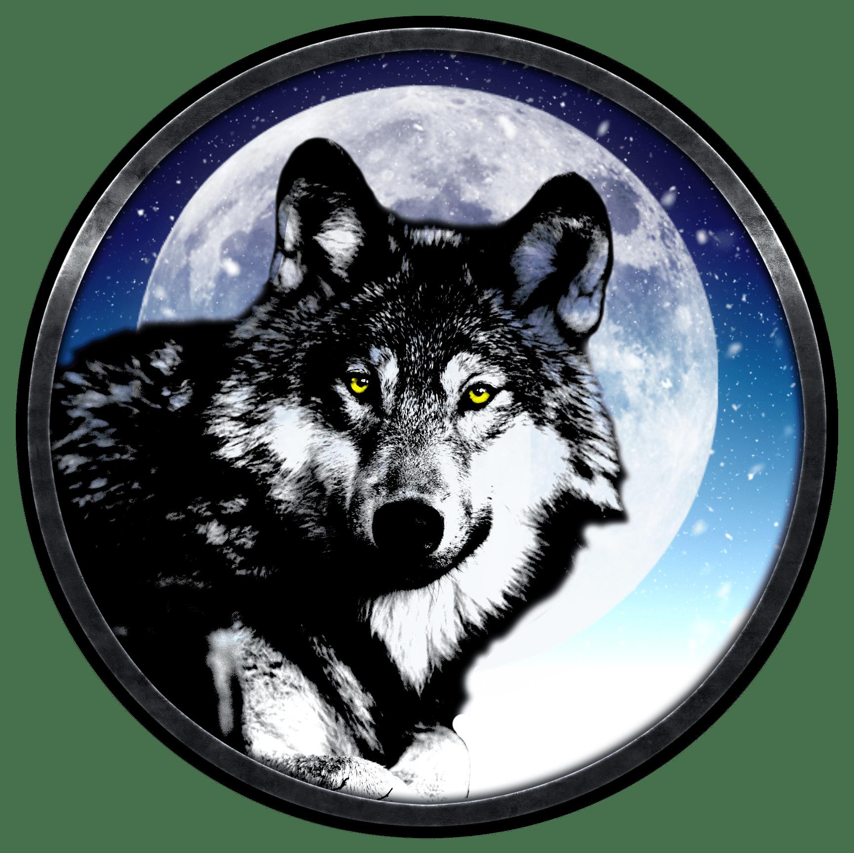 всего картинки из значков волк эффект